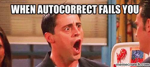 autocorrect fail before translation
