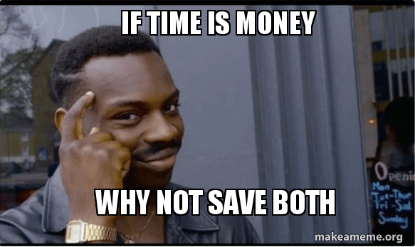 time is money why not save both on translation