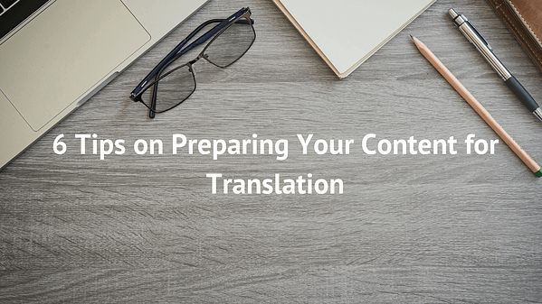 preparing for translation