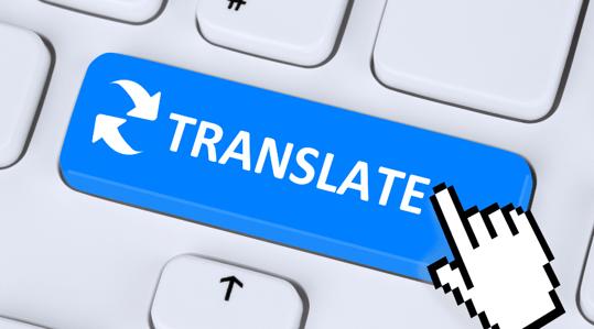 using Google translate instead of translation company
